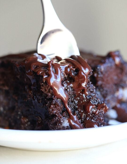 Earthquake Cake is a crazy delicious and easy chocolate cake recipe.
