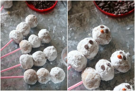 Donut Hole Snowmen Assembly