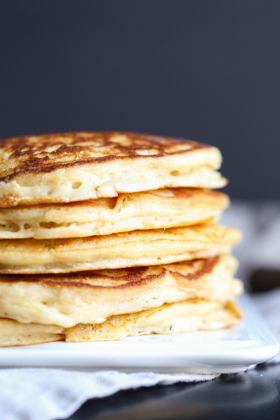 This Brown Sugar Pancakes recipe shows you how to make pancakes from scratch