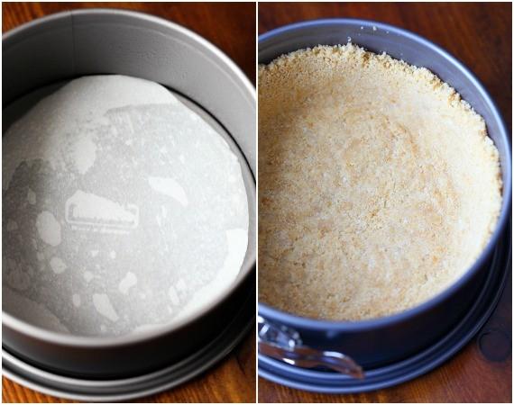 Try making your cheesecake crust using Ritz crackers!
