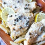 This Chicken Piccata Recipe was made in my InstantPot and it's SO easy and packed with flavor! You can also easily make this in a skillet too!