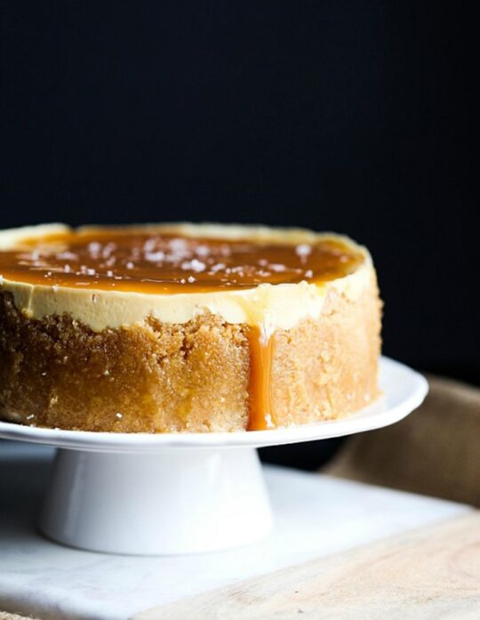 How to Make Easy Instant Post Salted Caramel Cheesecake