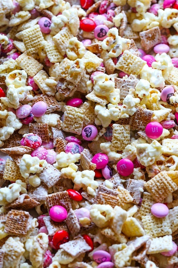 MY M&M'S Valentine Snack Mix! #MyMMS #MySweetValentine