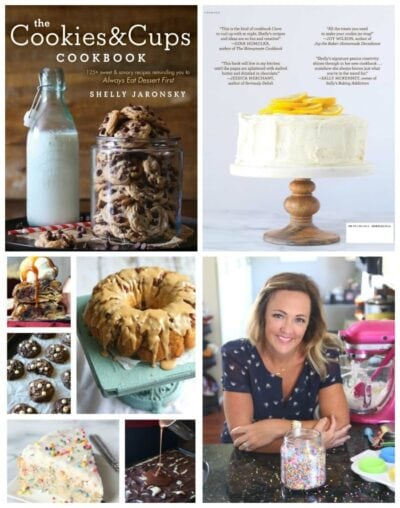 A Sneak Peek inside The Cookies & Cups Cookbook!