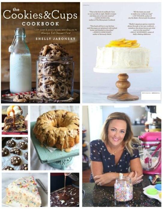 A Sneak Peek inside The Cookies & Cups Cookbook!