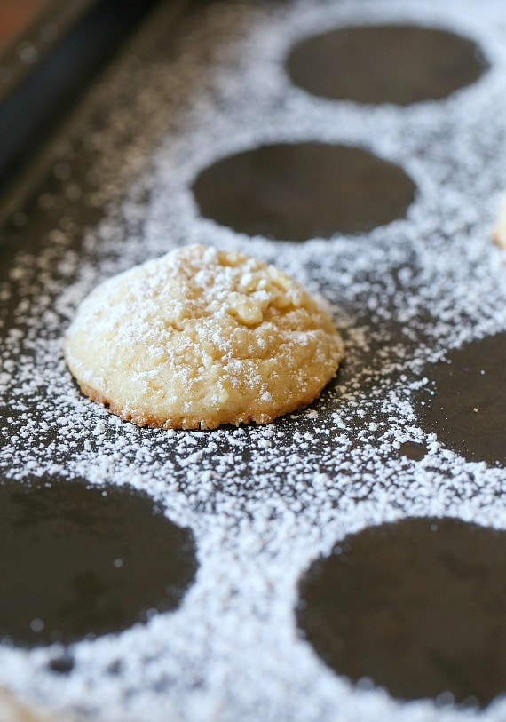 Potato Chip Shortbread. LIghtly salty, perfectly sweet and melt in your mouth cookies!