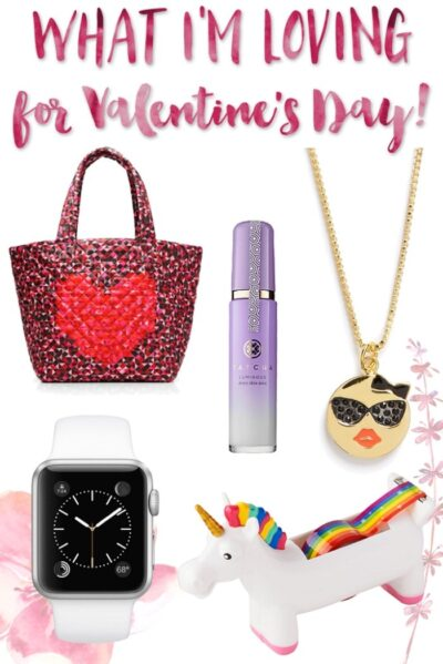 All my favorites for Valentine's Day!