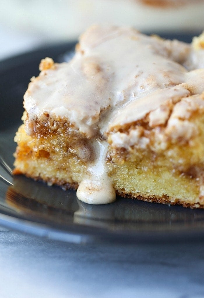 Easy Cinnamon Roll Cake A Quick And Delicious Cake Recipe