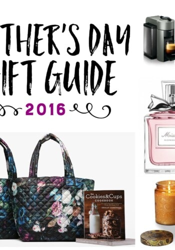 Cookies & Cups Mother's Day Gift Guide 2016