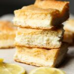 These Easy Lemon Cream Cheese Bars are simple to make, rich, buttery and packed with citrus flavor!