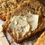 Toasted Coconut Banana Bread is a moist, soft banana bread recipe