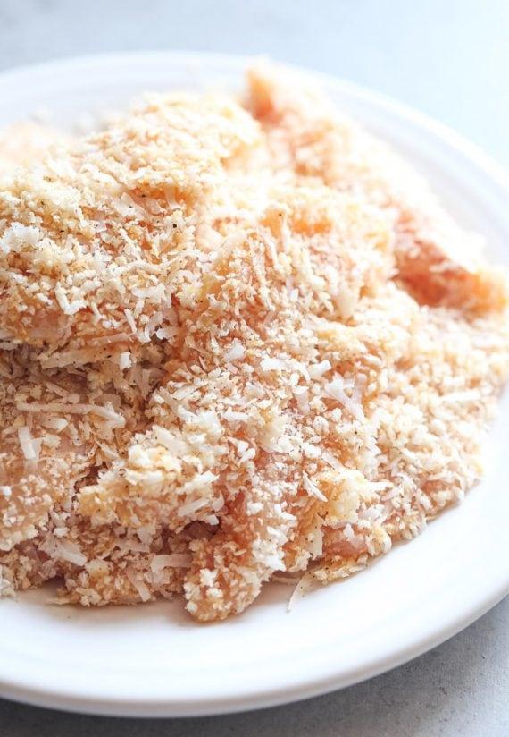 Crispy Coconut Chicken Strips