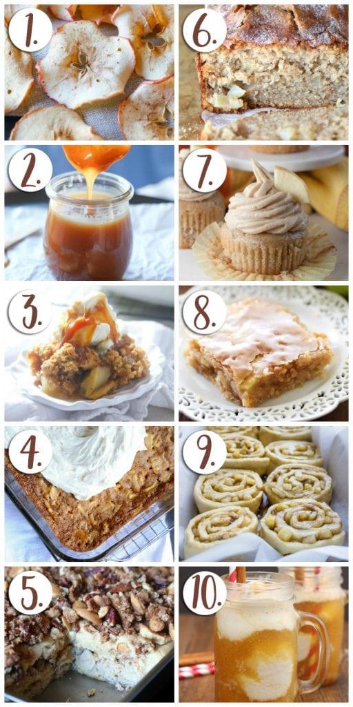 Fall Baking! Apple Desserts!
