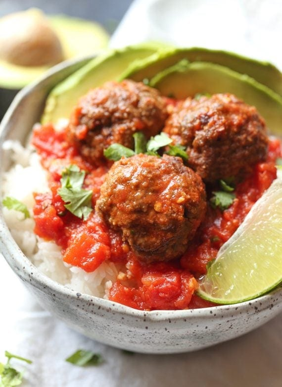 Chipotle Meatballs! Simple and fun dinner!