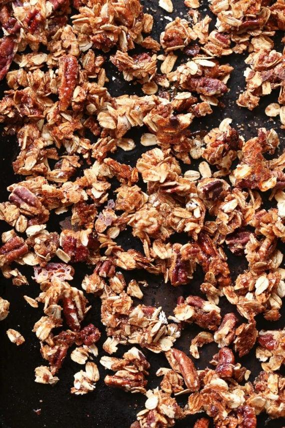 Cinnamon Praline Granola
