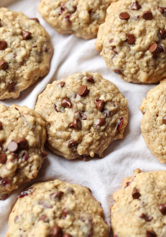 Image of Chocolate Chip Cranberry Oat Cookies