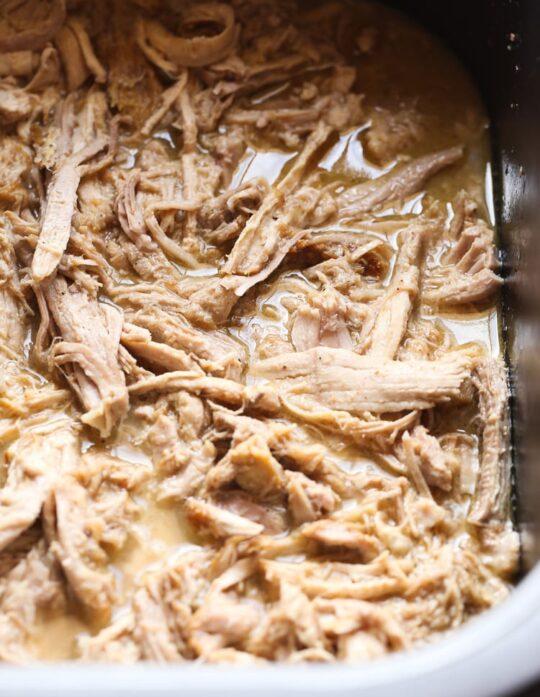 Crock Pot Cuban-Style Pork... such an easy weeknight meal!