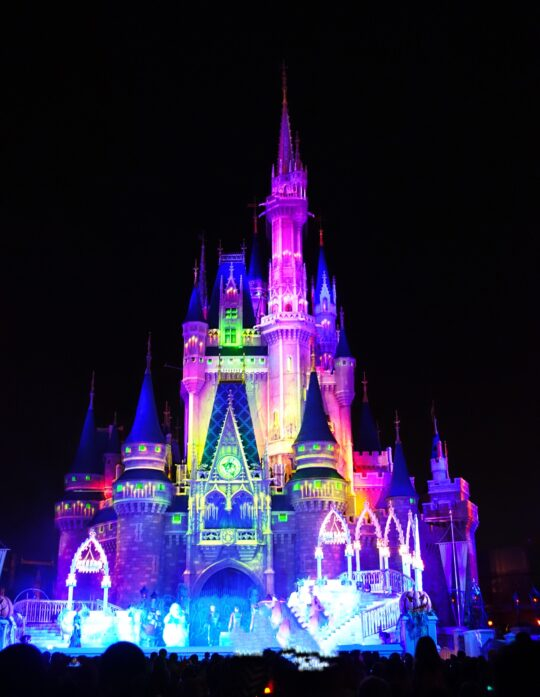 Magic Kingdom Castle Disney World