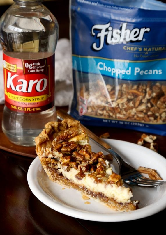 English Toffee Cheesecake Pie