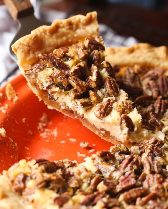 Image of English Toffee Cheesecake Pecan Pie