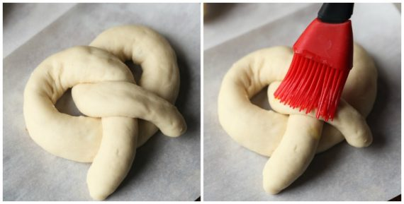 Super easy soft pretzels you can make in under an hour!