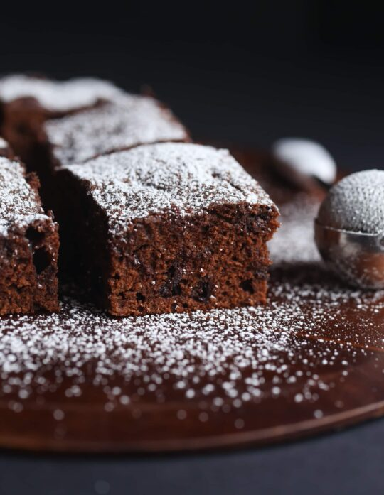 Sour Cream Chocolate Cake...it's like a cross between cake and a brownie!