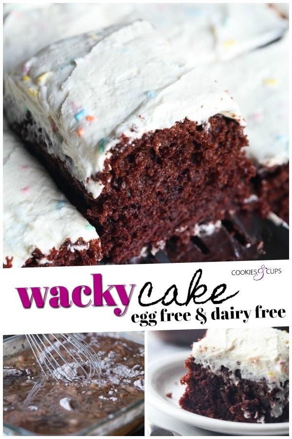 Wacky Cake Pinterest Image