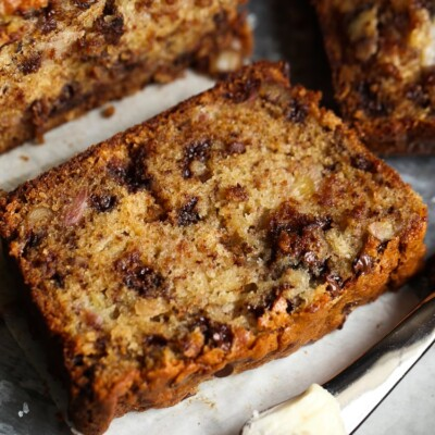 The BEST Chocolate Chip Banana Bread you will ever try!