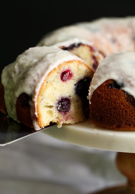 Sour Cream Blueberry Bundt Cake Cookies And Cups
