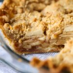 Chai Spiced Apple Pie Recipe | Homemade Apple Pie with Crumb Topping