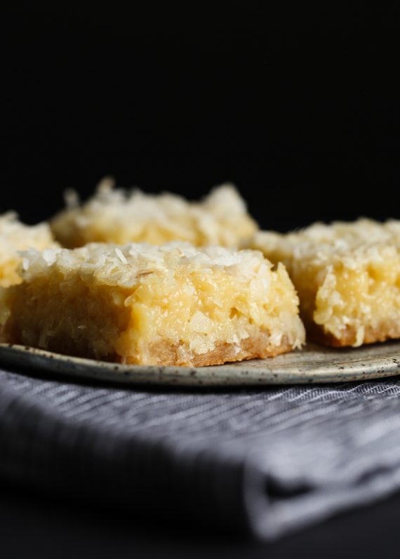 Butter Coconut Bars Cookies And Cups