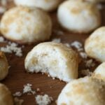 Sand Dollar Cookies! Buttery and sweet with a meltaway texture. Perfect with a cup of coffee!