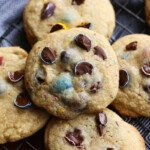 chocolate chip cookies with cadbury chocolate eggs