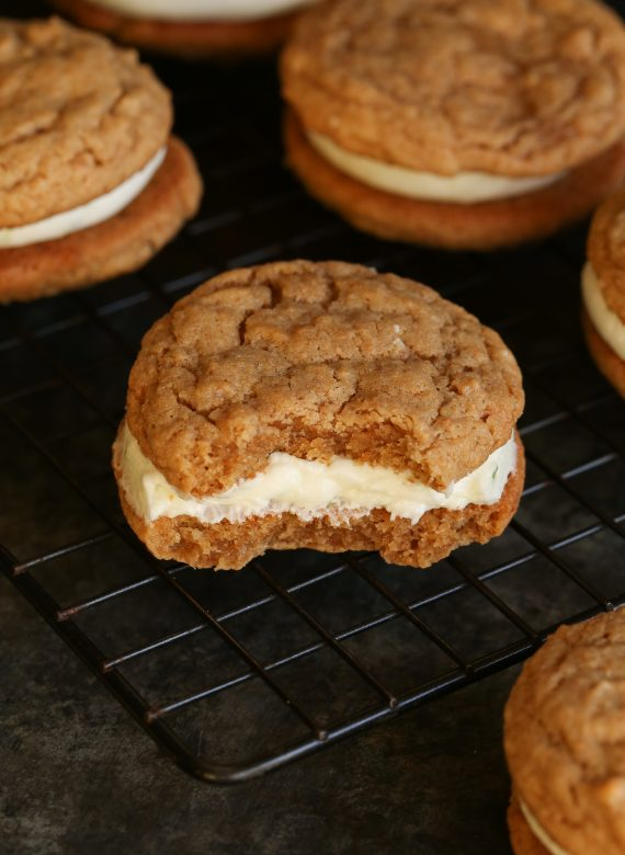 Key Lime Pie Sandwich Cookies