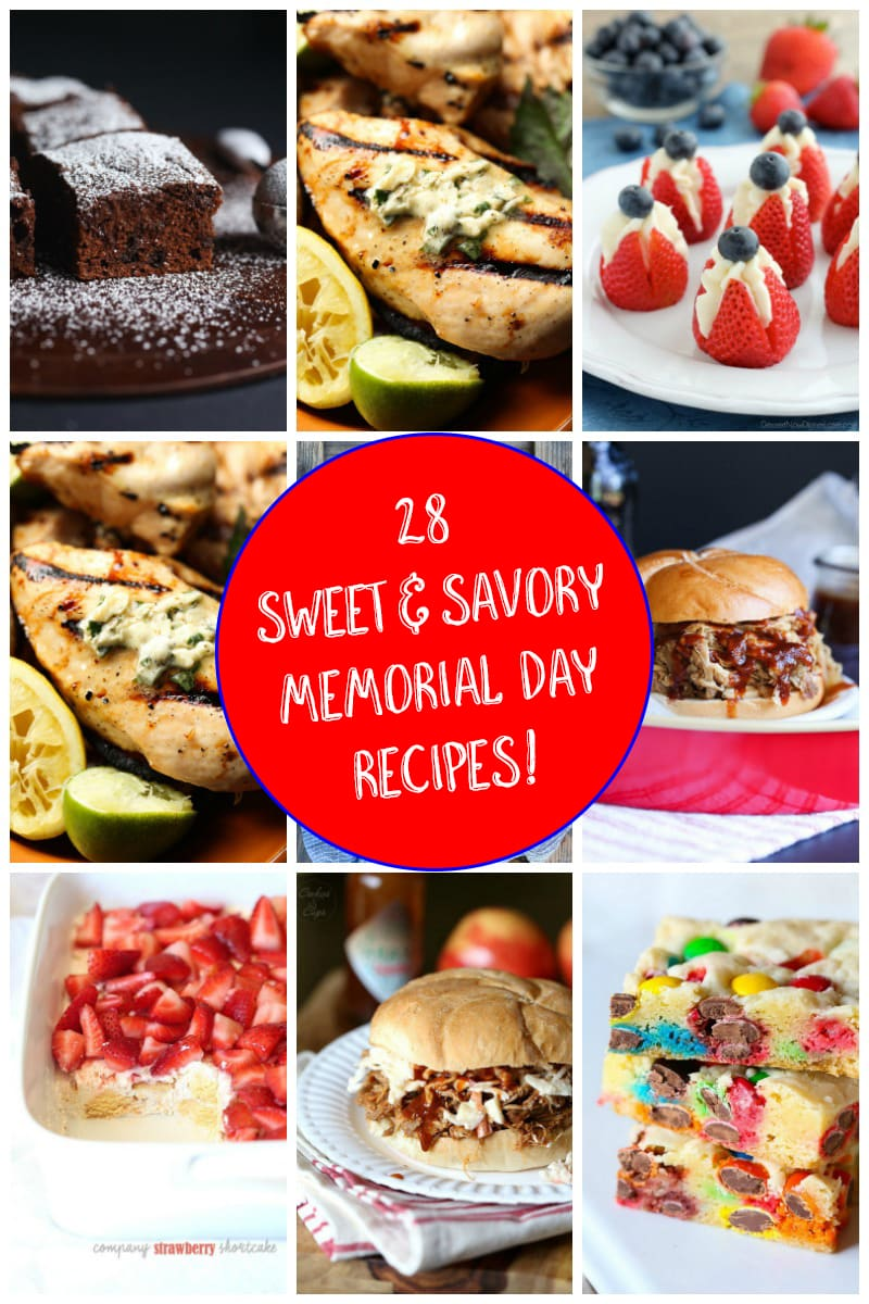 28 Sweet and Savory Memorial Day Weekend Recipes