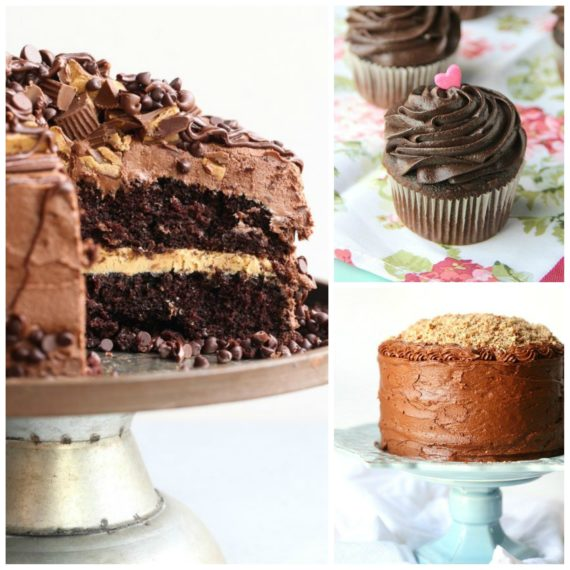 3 ways to use my creamy chocolate frosting recipe!