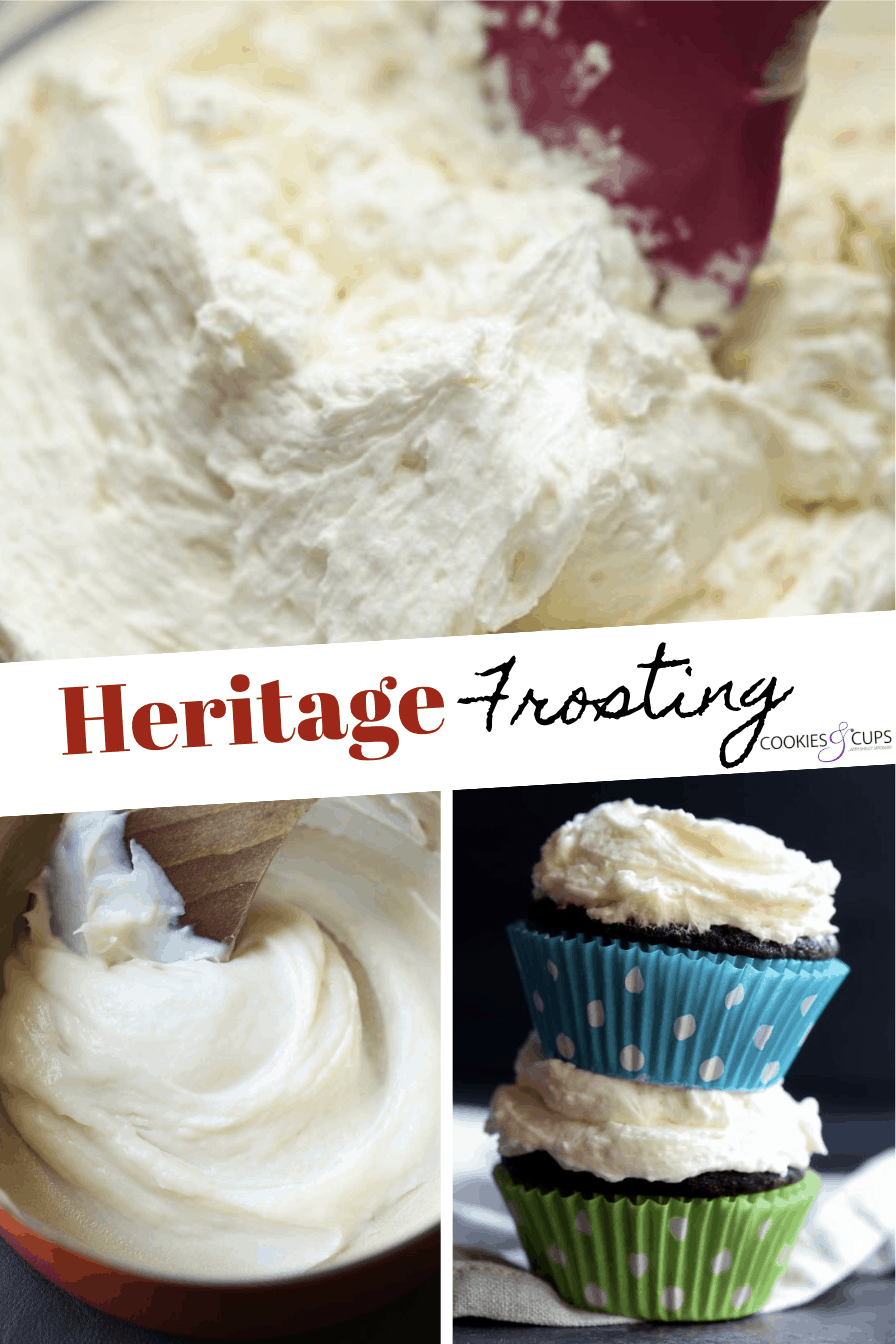 Pinterest Image for Heritage Frosting