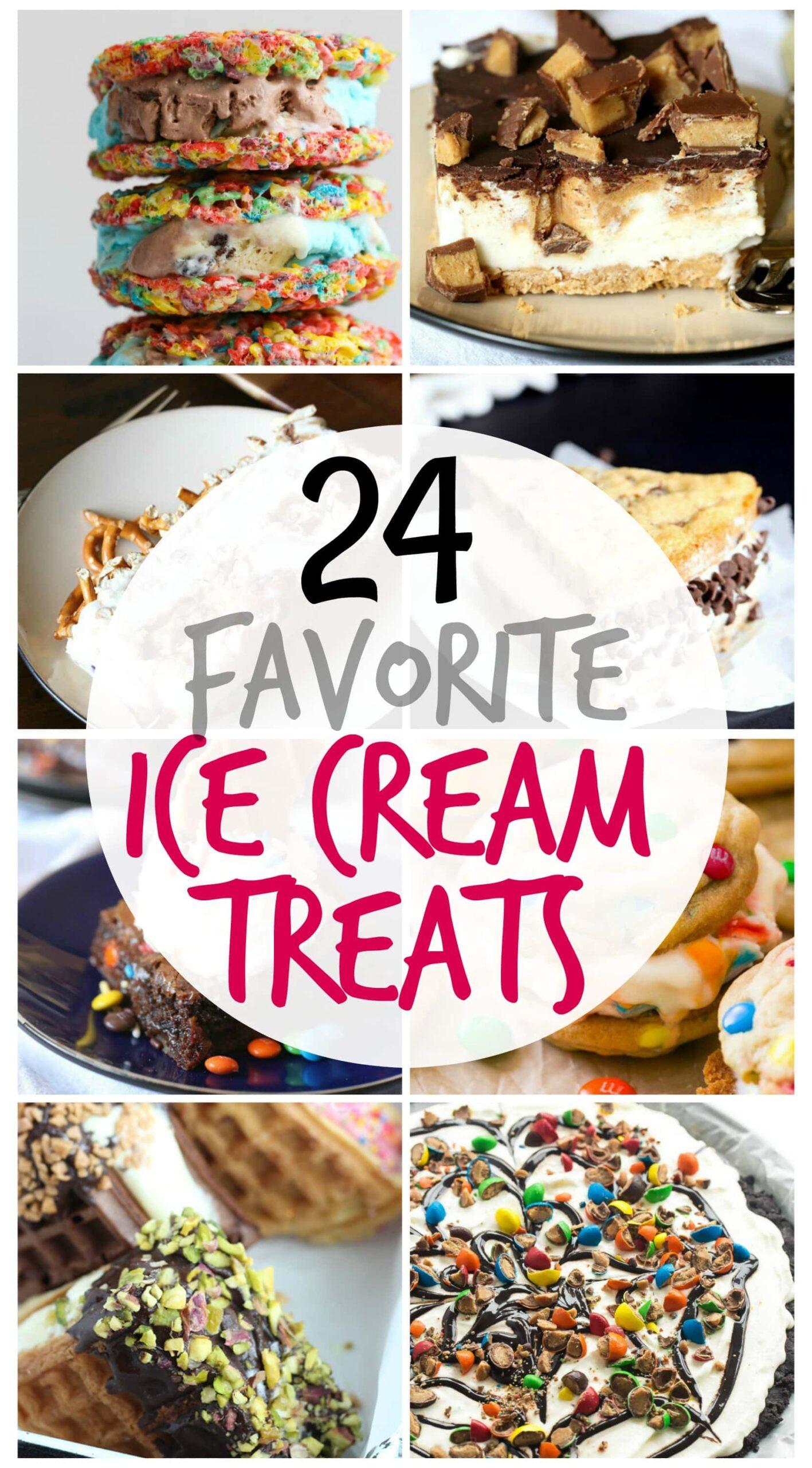 24 Favorite Ice Cream Treats