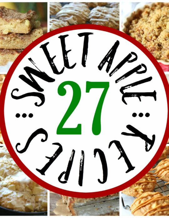 27 Sweet Apple Treats!