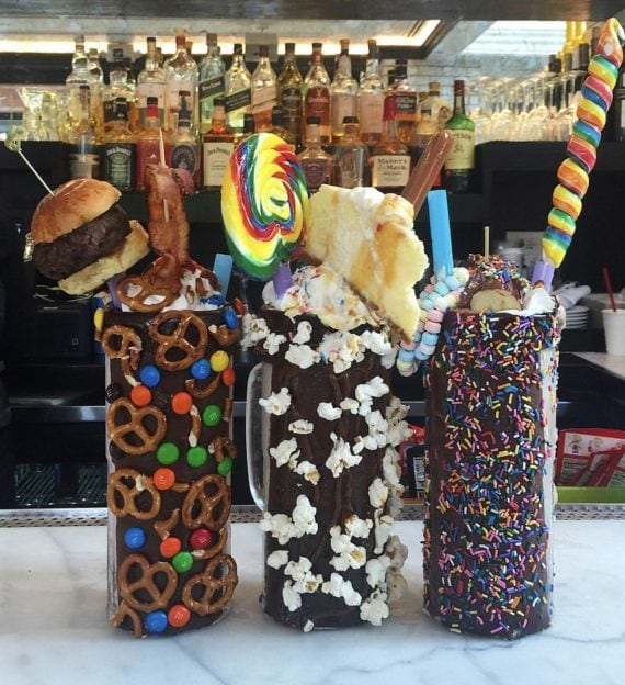 Crazy Milkshakes at Sugar Factory NYC