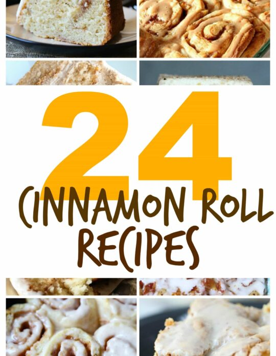 24 Cinnamon Roll Recipes