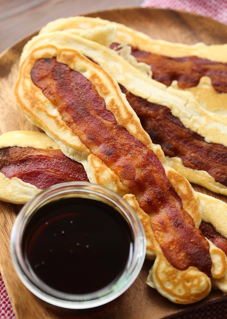 Pancake bacon dippers bacon and pancake in one amazing bite pancake bacon dippers a soft pancake surrounds a crispy piece of bacon that you can ccuart Gallery