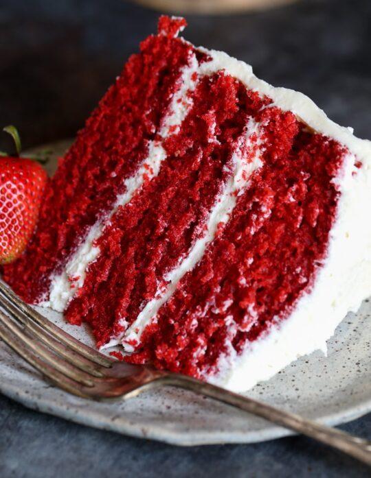 The BEST Red Velvet Cake EVER!