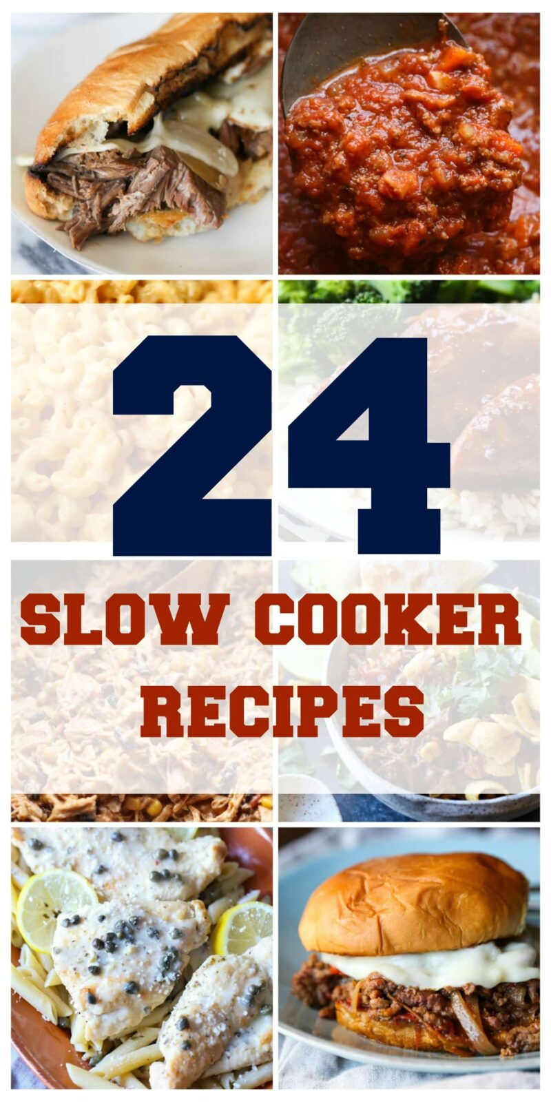 24 Slow Cooker Recipes that are easy and great slow cooker meals for weeknights