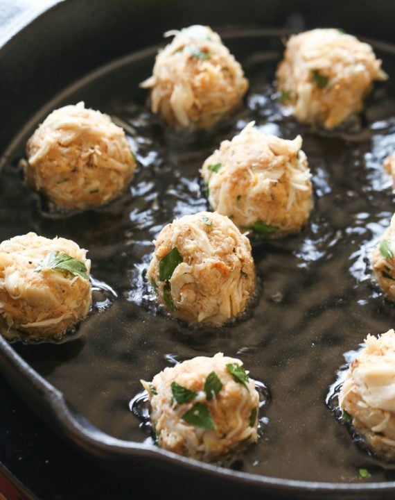 Crispy Crab Balls with Chipotle Tartar Sauce