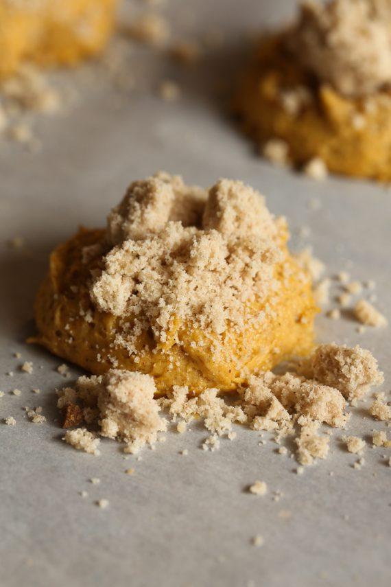 Pumpkin Crumb Cake Cookies