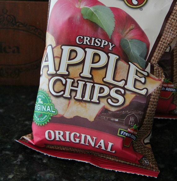 Image of a Bag of Crispy Apple Chips