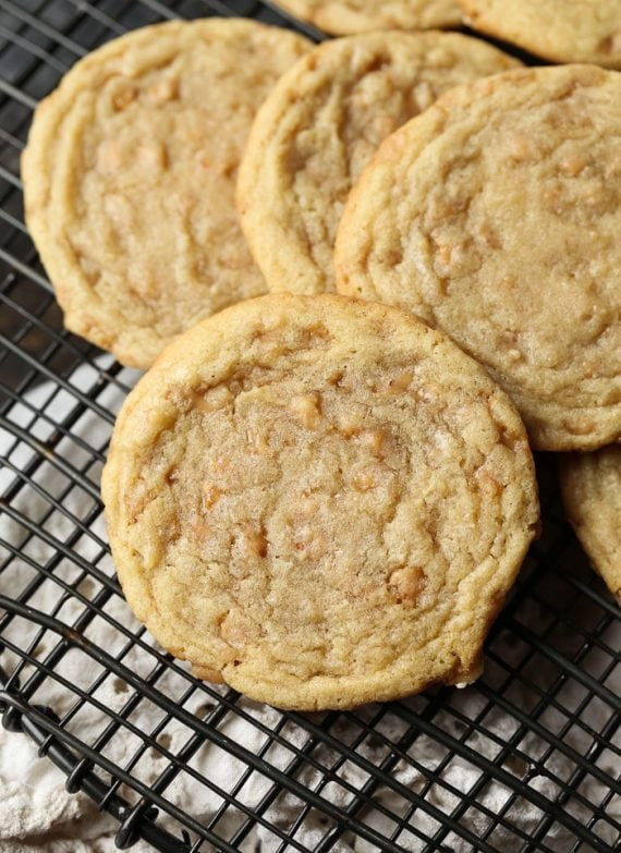 Toffee Butter Cookies