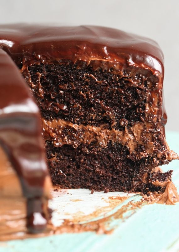 The BEST Chocolate Cake Recipe ever!