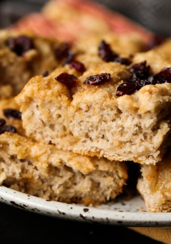 Image of Cranberry Focaccia Bread